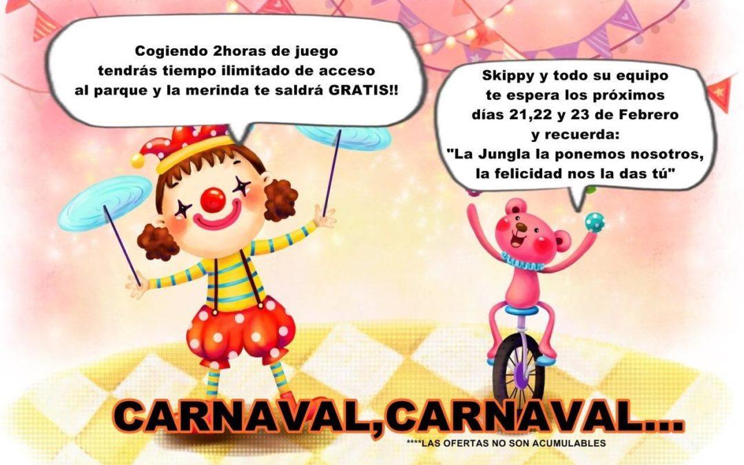 TERMINADA: Oferta Carnaval 2020